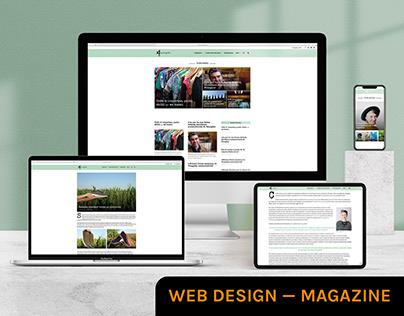Eco-à-porter — Website — Magazine