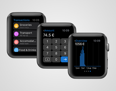 Spendary Apple Watch
