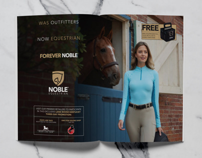 Noble Equestrian Ad