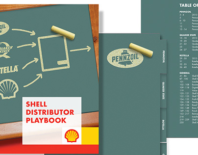 Shell Distributor Playbook Soft Cover and Website Comp