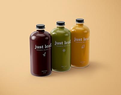 Just Leaf. - Beverage Branding