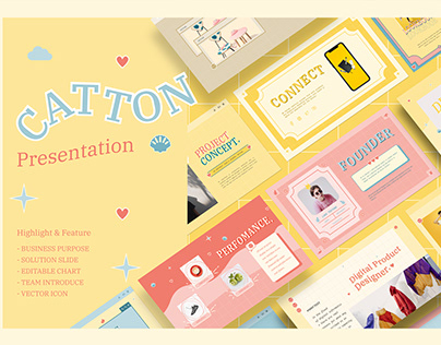 Catton Paste Presentation Template