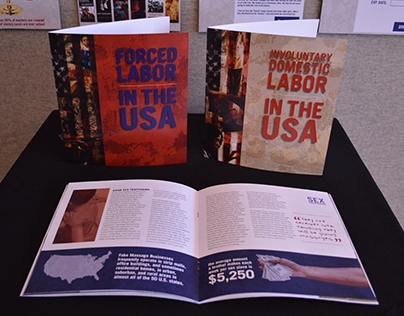 USA Freedom: Nonprofit Branding; Brochures, Ads, & More