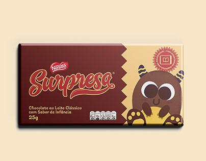 Nestlé Surpresa - Rebrand