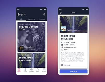 App Design · Coroflo on Behance