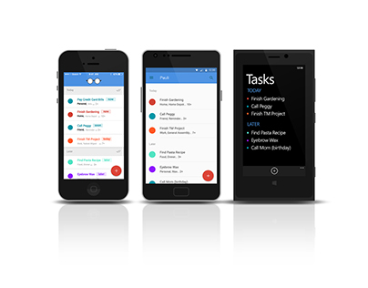 Design for iOS, Android, and Windows