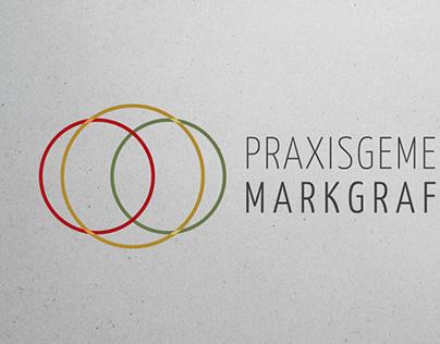 Praxisgemeinschaft Markgrafenhaus / Logo- & Webdesign