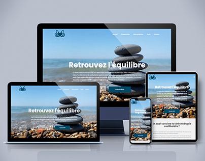 Création du site - Cabinet de Kinésithérapie