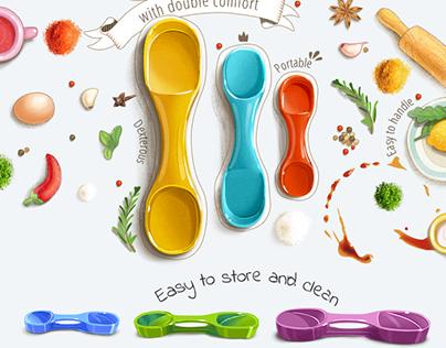 Measuring spoons recipes