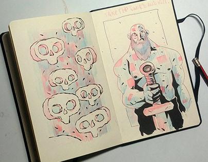 Daddy's Sketchbook