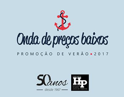 Promoção de Verão 2017 - Camisaria HP