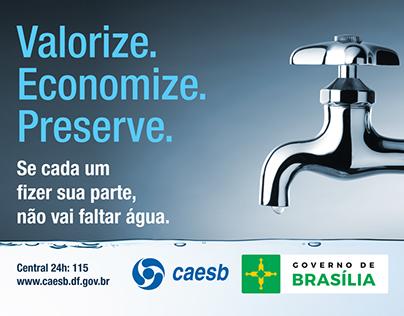 Valorize. Economize. Preserve | Caesb