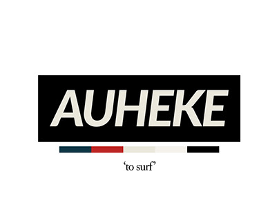 Auheke - Clothing Brand Concept