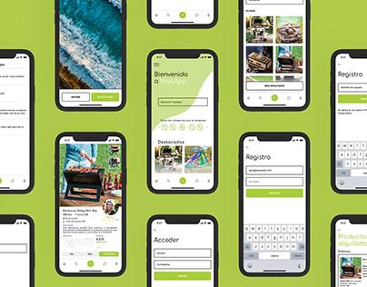 YoyoApp UI Design