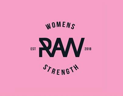 WOMENS RAW STRENGTH BRANDING