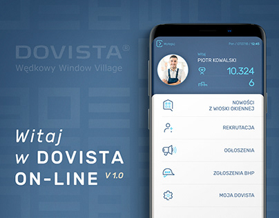 Dovista - mobile app