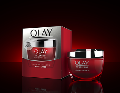 Olay Product Visuals