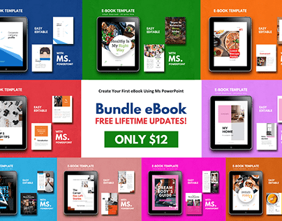 eBook Bundle Design Template