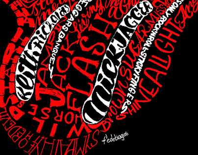 Rolling Stone - Lettering