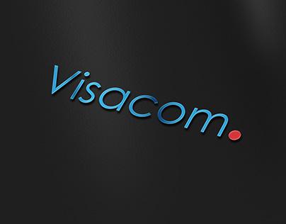 Visacom Logo - Sponsor of the women's football team.