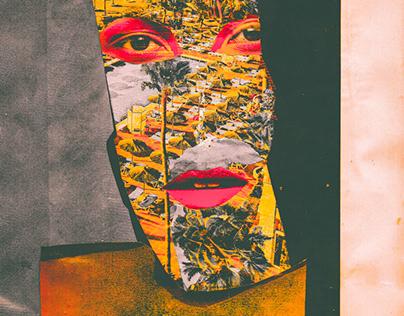 Pandemic desire // Analog Collage Portrait