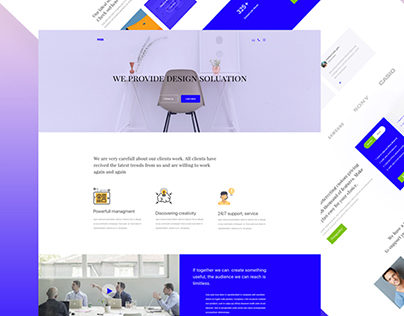 Design problem solution agency site concept