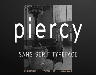 piercy sans serif FREE font typeface by