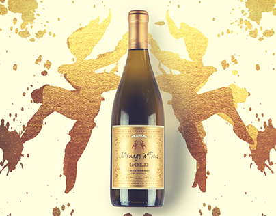 Menage a Trois Wines - GOLD TAKEOVER - Instagram