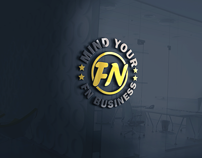 Logo design mind your fn business