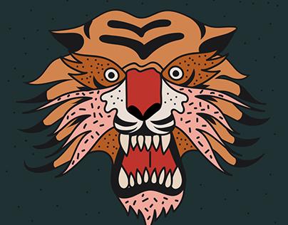 Tiger illustrations