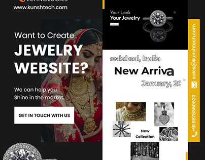 Web Design for Jewelry Website