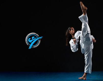Logo for Taekwondo Federation of Kazakhstan