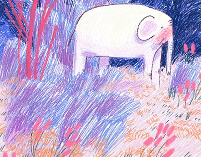childrens book sketch