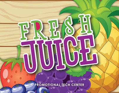 Fresh Juice Promotional Tech Center