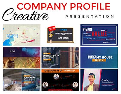 Company Profile Presentations