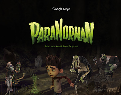 ParaNorman Zombies & Google Maps. What's not to like!