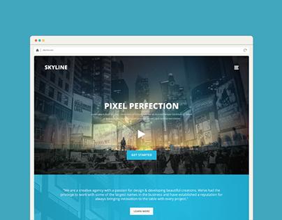 Skyline - Real estate PSD Template
