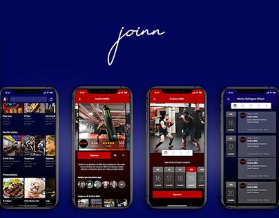 Joinn - Aplicación para reservas