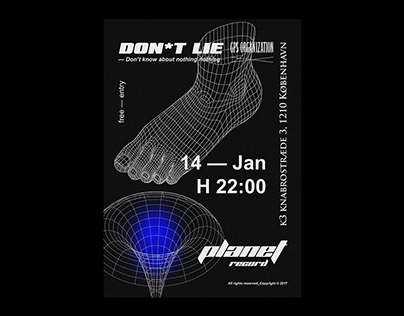 DON*T LIE_posters