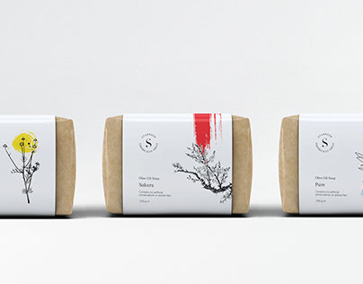 Starneer: Olive Oil Soap Packaging