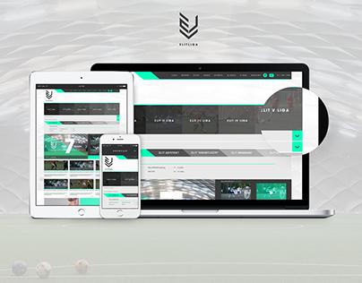 Elitliga.pl - website by Playstop