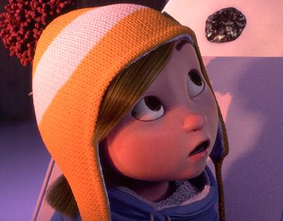 Lili & the snowman
