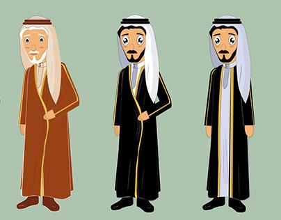 saudi man character
