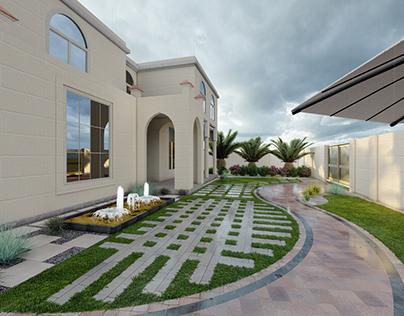 EXTERIOR DESIGN-MR .KHALID ALNAQBI-KALBA2021