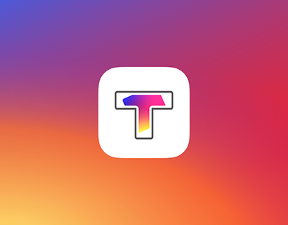 App icon design for Tiling for Instagram.