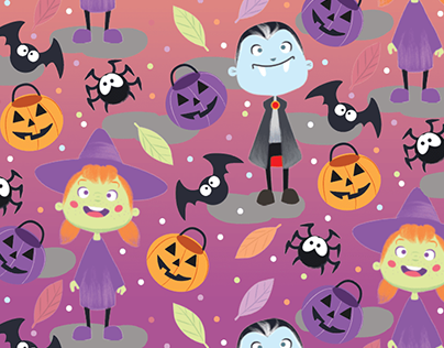 "Halloween 2019 Pattern""Trick Or Treat"""