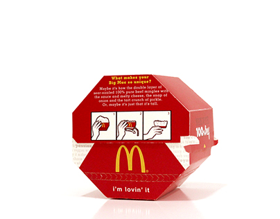 Conventional McDonald's Burger Box (Concept)