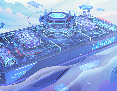 The part of Lenovo Legion Project