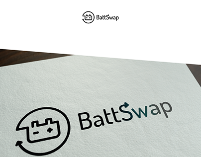 BattSwap logo for e-car project