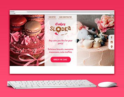 Cakes Slodka, e-commerce for bakery